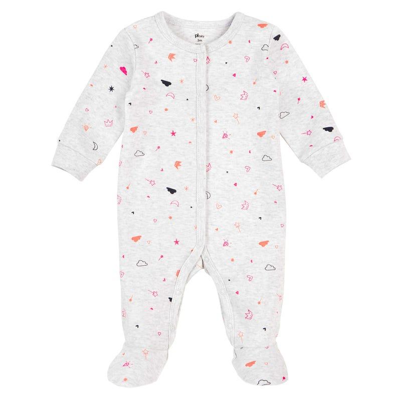 Fairy Printed Pajama Set 12-24m