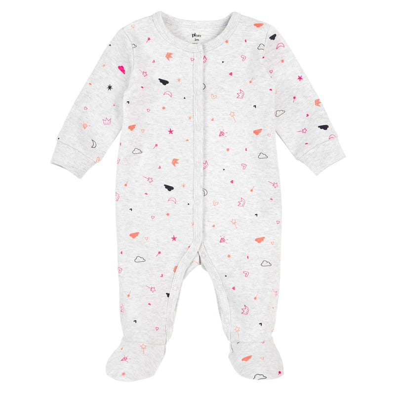 Fairy Printed Pajama Set 12-24m