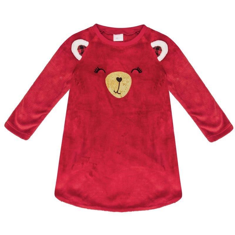 Teddy Bear Nightgown 2-6y