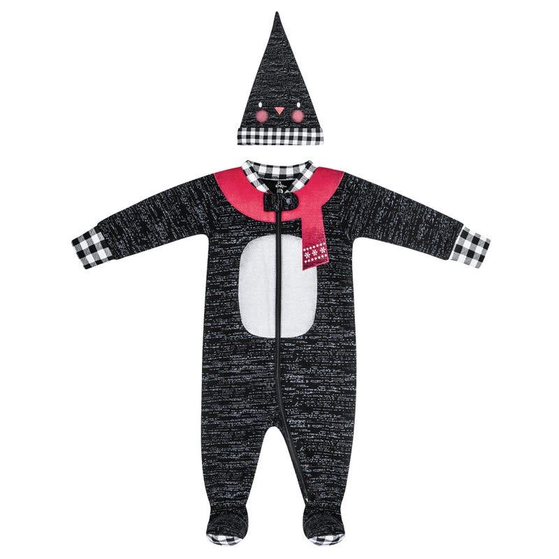 Penguin Pajama Set 3-24m