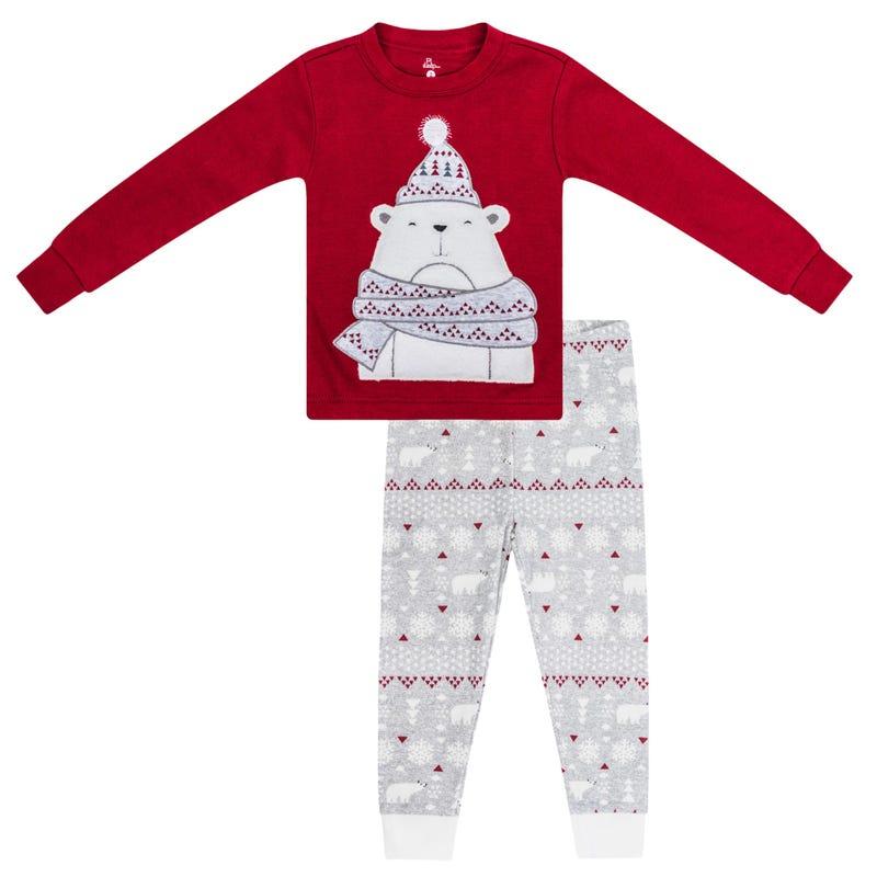 Bear 2 Pieces Pajama Set 12-24m