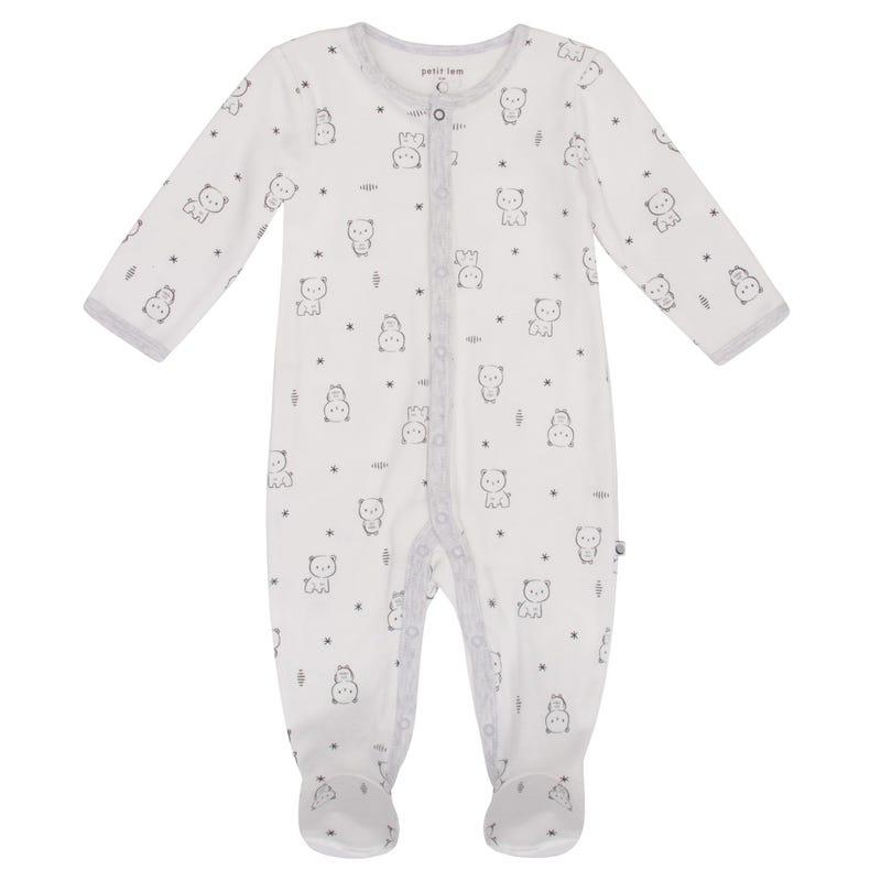 Galaxy Bear Print Pyjamas NB-9m