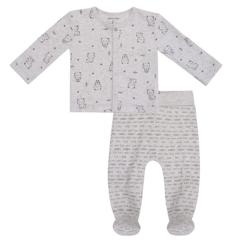 Pyjama 2 Pièces Imprimé Galaxie 0-9mois