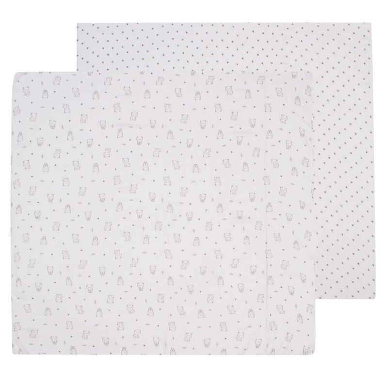 Couverture Mousseline Paquet de 2 - Galaxie