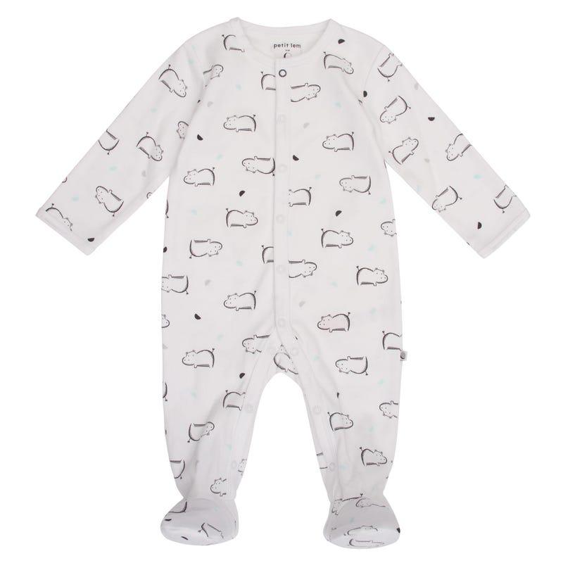 Pyjama Hippo Prématuré 9mois