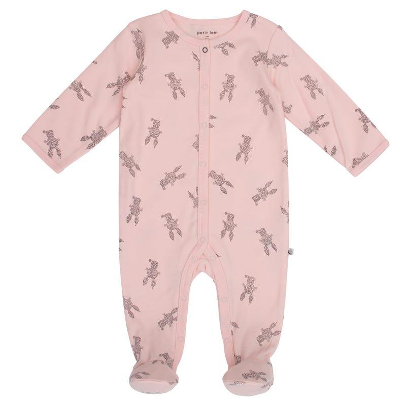 Rabbit Print Pyjamas NB-9m