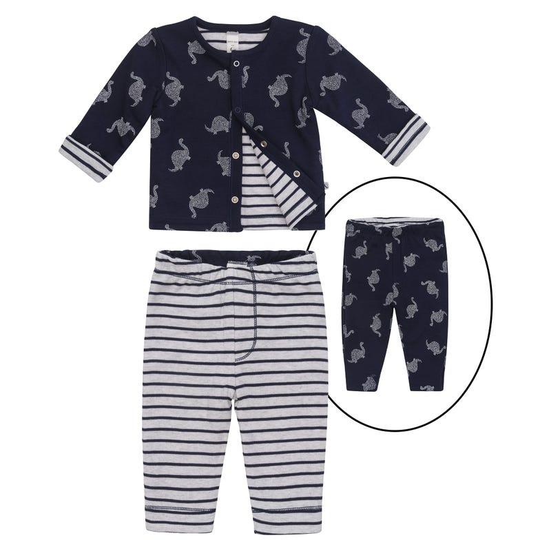 Pyjama 2 Pièces Imprimé Dino 0-9mois