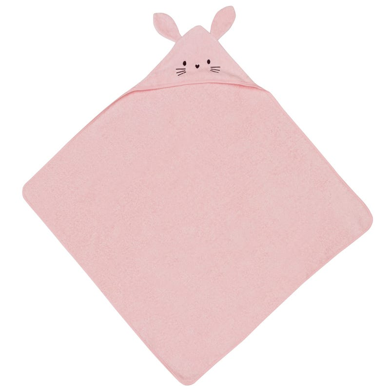 Honey Bunny Hooded Towel with Organic Terry Cotton