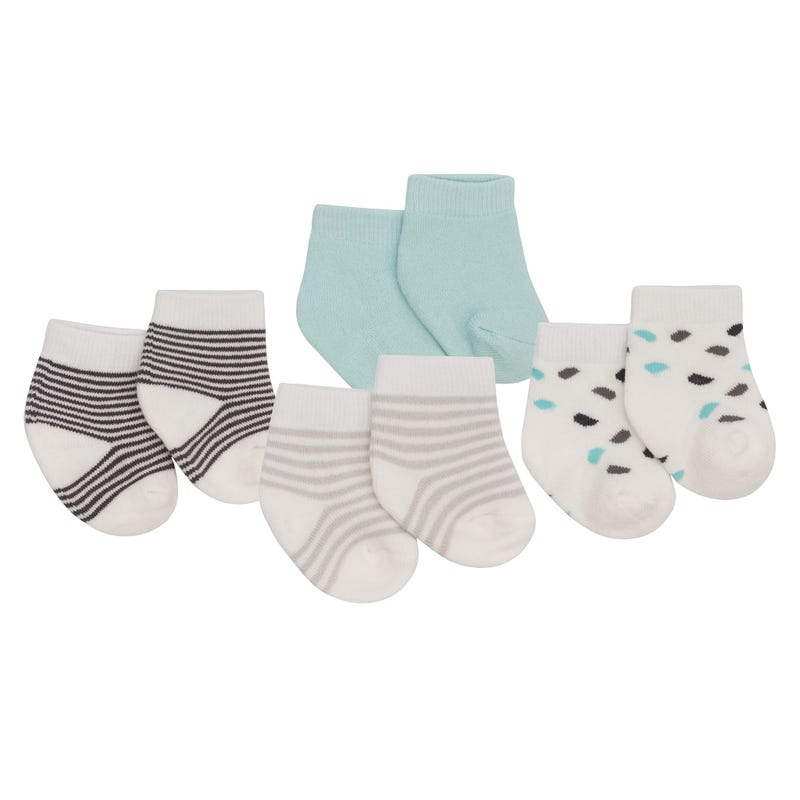 Hippo Socks Set of 4 0-3m