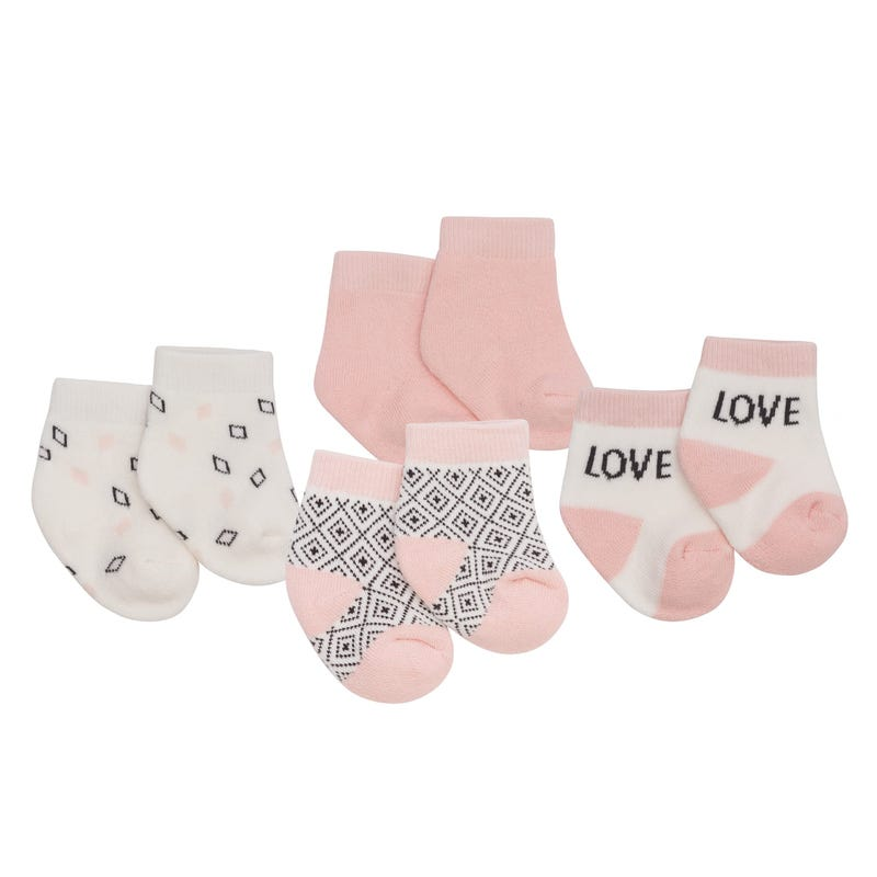 Rabbit Socks Set of 4 0-3m