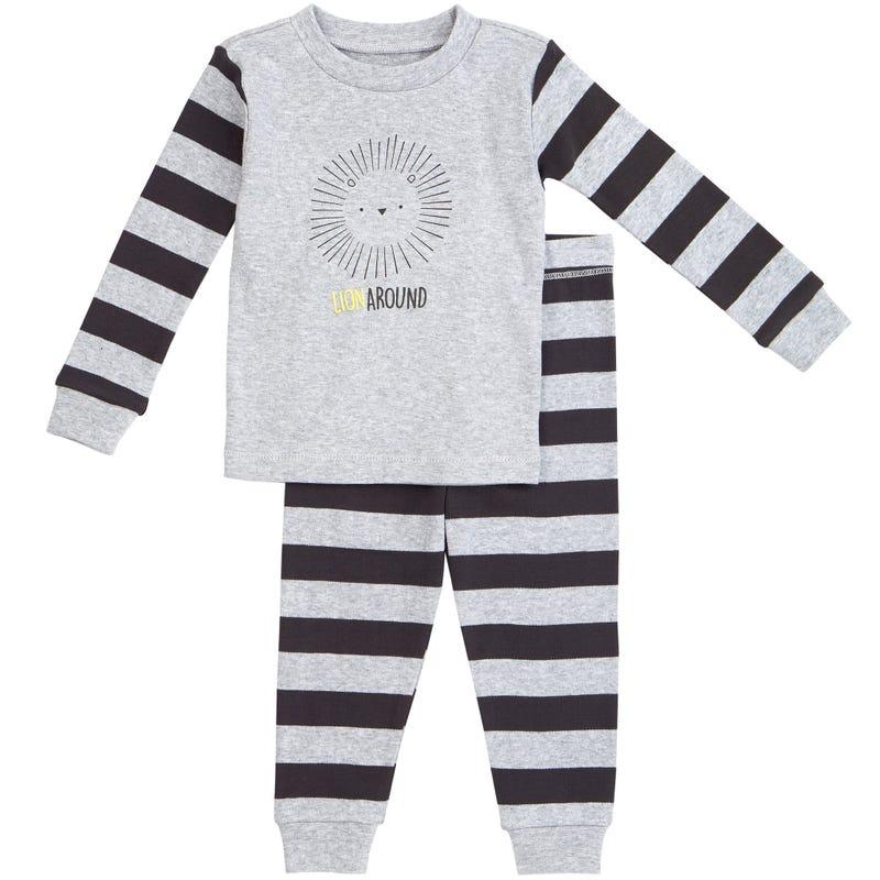 Pyjama 2 Pièces Rayé Lion 12-24mois