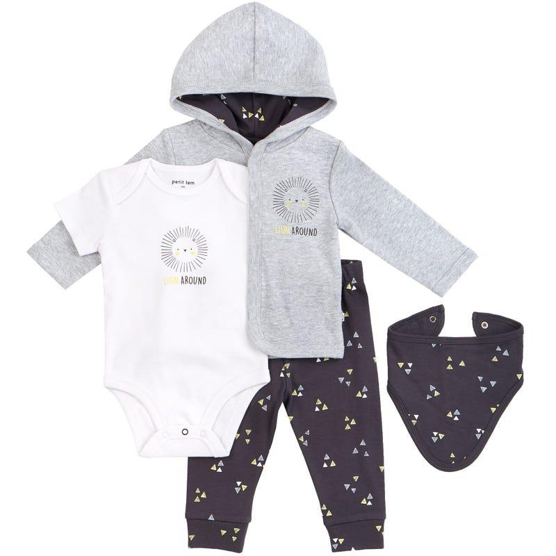 Lion Pajamas Set 0-6m