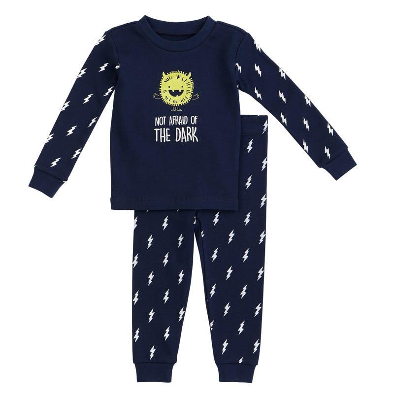 Pyjama 2pcs monstre 12-24m