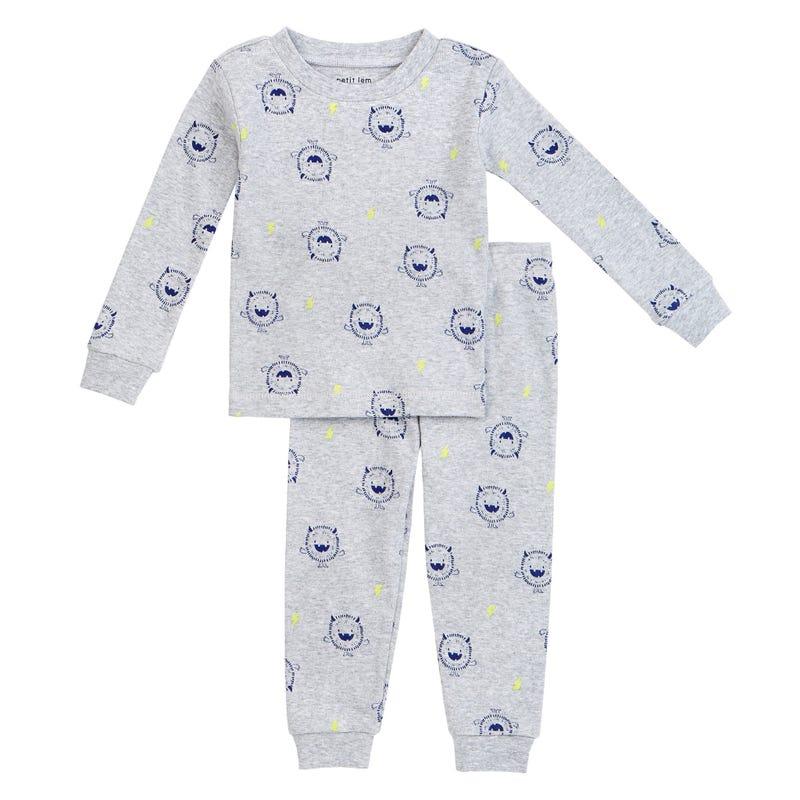 Monter 2pcs Pajamas 12-24m