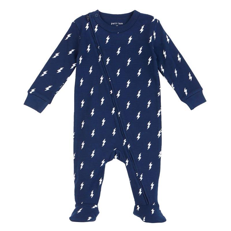 Monster Lightnin Pajamas 0-24m