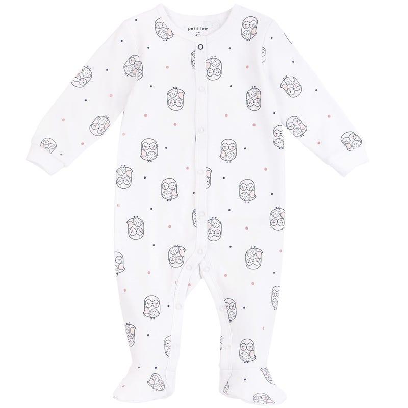Pyjama Hibou 0-9mois