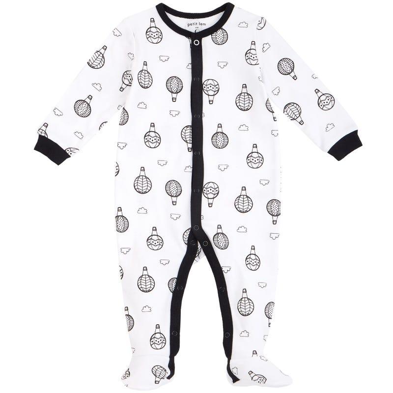 Pyjama Imprimé Montgolfière 0-6mois