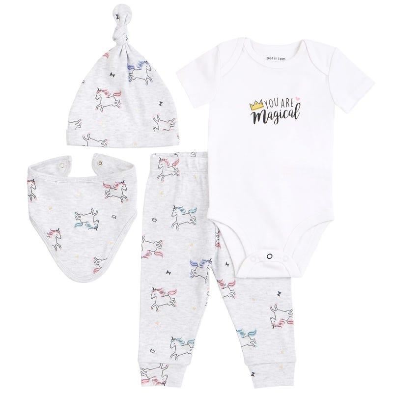 Ensemble Pyjama Licorne 0-6mois
