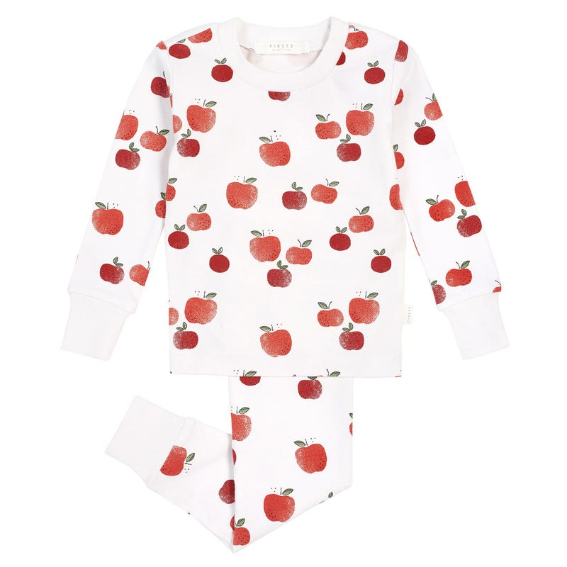 Apple 2pcs Pajamas 2-4T