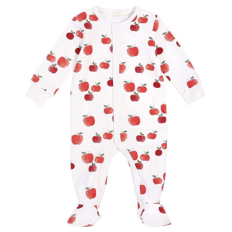 Apple Pajamas 0-9m