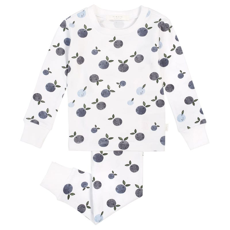 Blueberries 2pcs Pajamas 2-4T