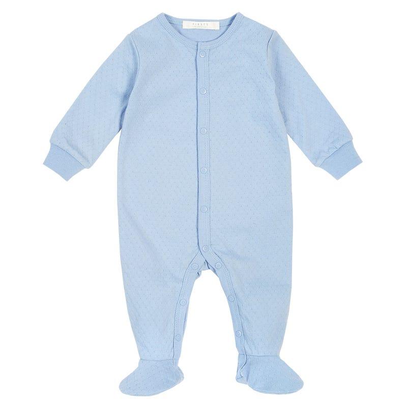 Blueberries Blue Pajamas 0-9m