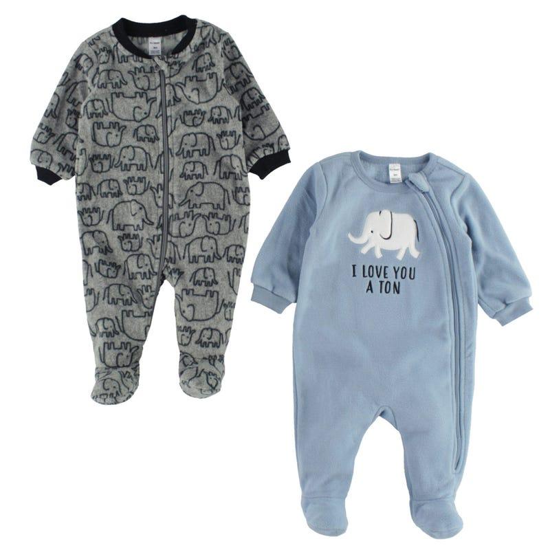 Elephant 2pcs Set Pajamas3-24m