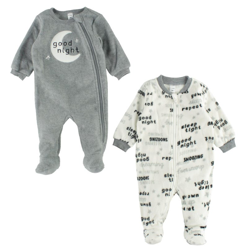 Moon 2 Pcs Set Pajamas 3-24m