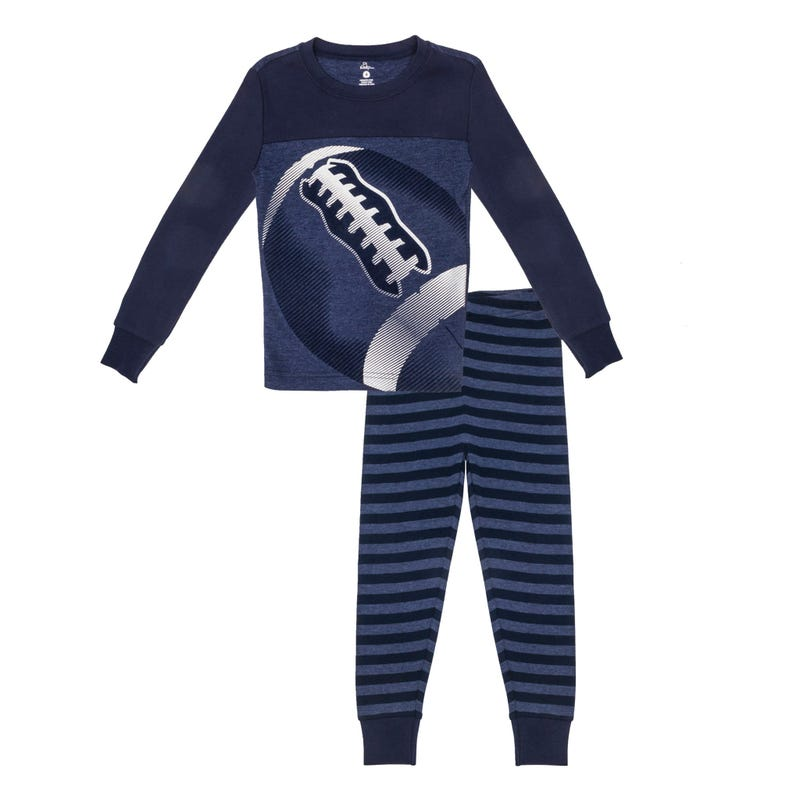Football Pajamas 4-7