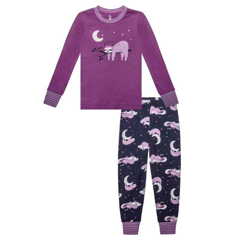 Sloth Pajamas 8-14