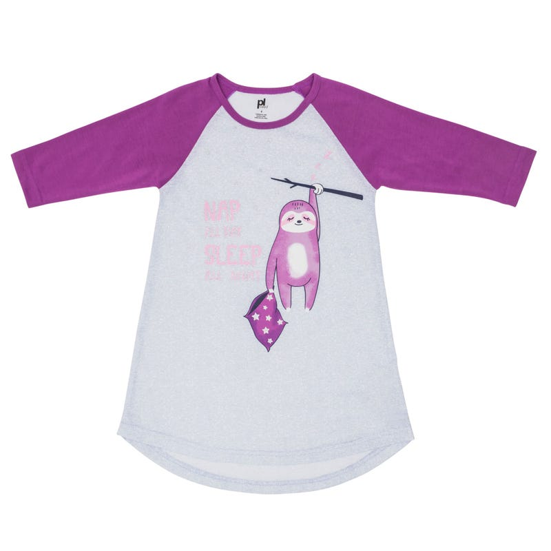 Sloth Nightgown 8-14