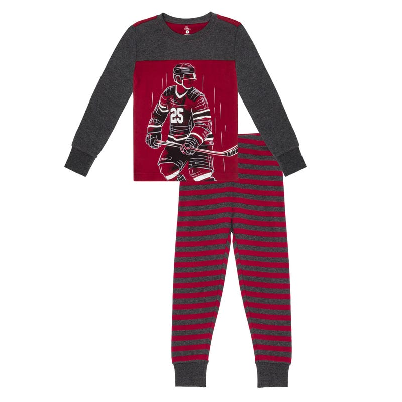 Hockey Pajamas 4-7