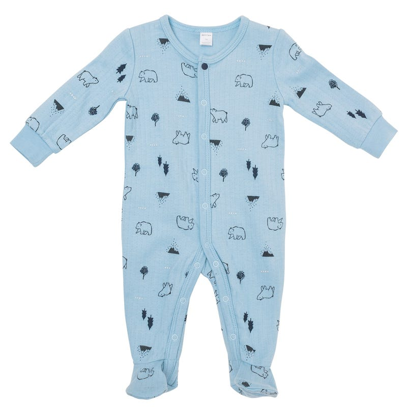 Bear Double Jersey Pajamas 024