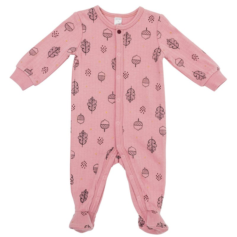 Leaves Double Knit Pajamas024m
