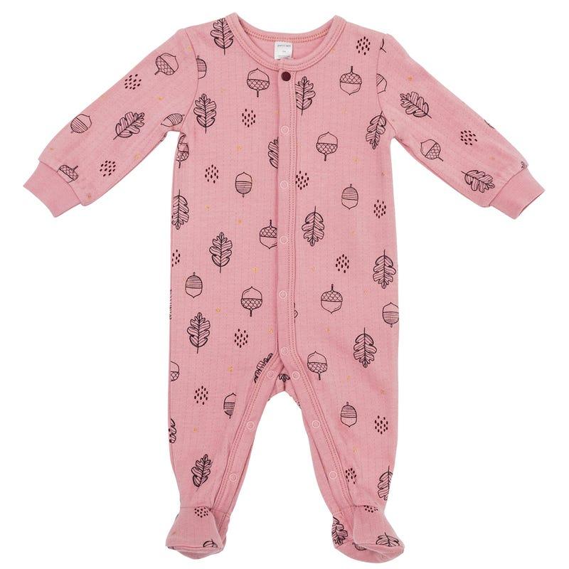 Pyjama piqué Feuilles 0-24m
