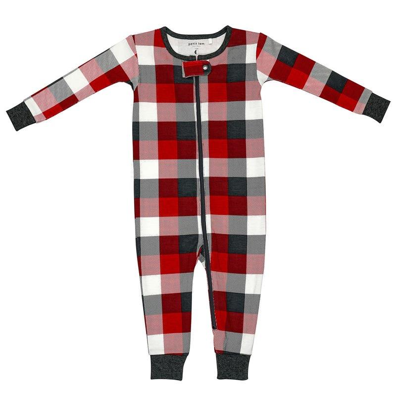 Pyjama Voiture Carreaux 12-24mois