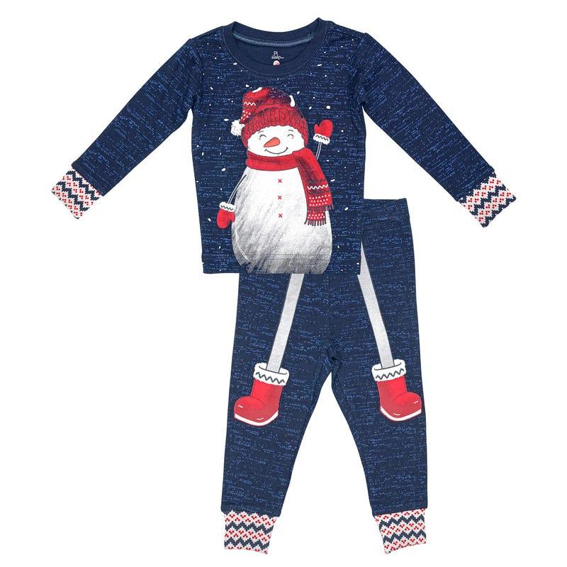 Snowman Pajamas 2-7
