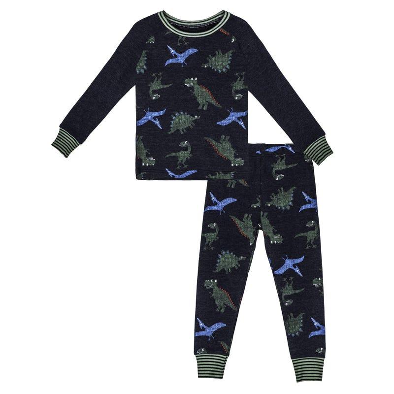 Pyjama Imprimé Dino 2-7ans