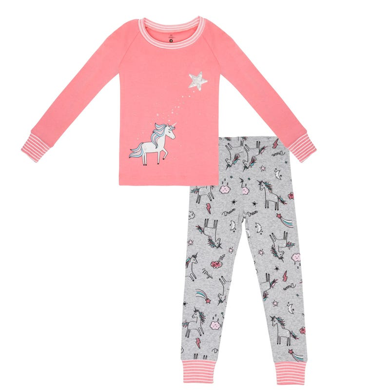 Unicorn Pajamas 2-6x
