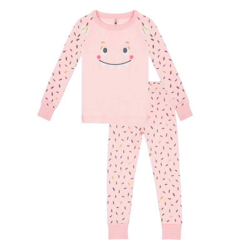 Monster Pajamas 2-6x