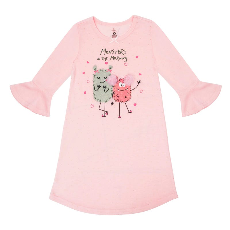 Monster Nightgown 2-6x