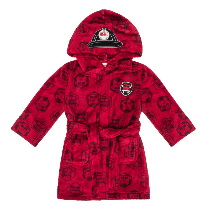 Robe De Chambre Pompier 2-7ans