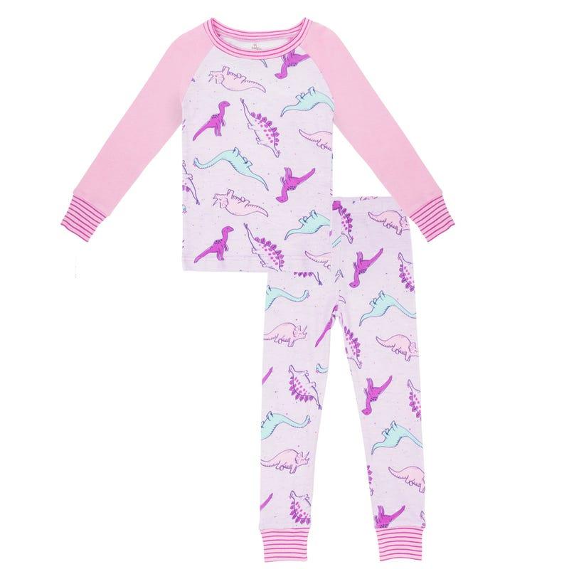Dino pajamas 12-24m