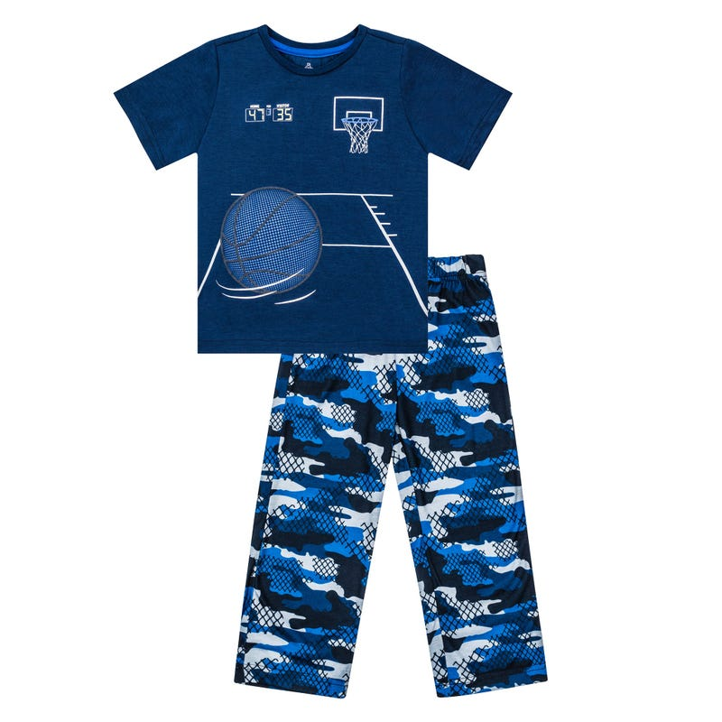 Sport Long Pajama Set 7-14y