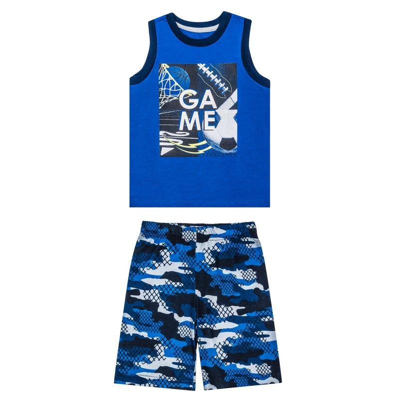 Sport Tank Pajama Set 7-14y