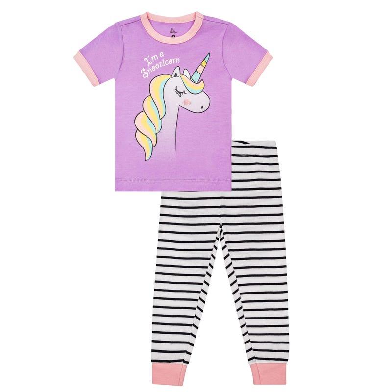 Pyjama Long Licorne 2-6x