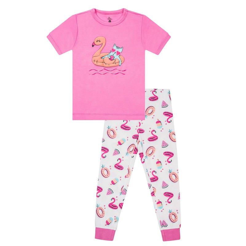Pyjama Long Flamant 2-6x