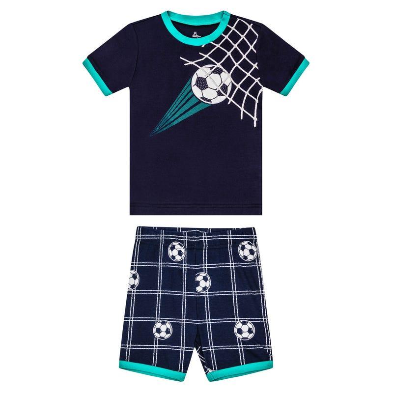 Soccer Short Pajama Set 2-7y