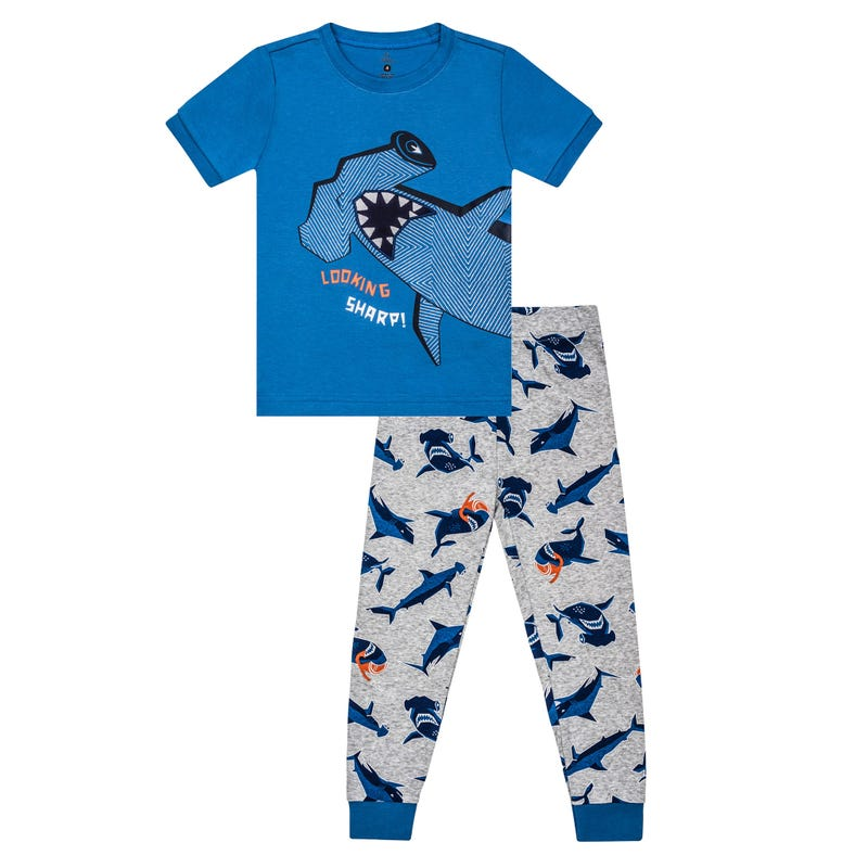 Pyjama Long Océan Requin 2-7