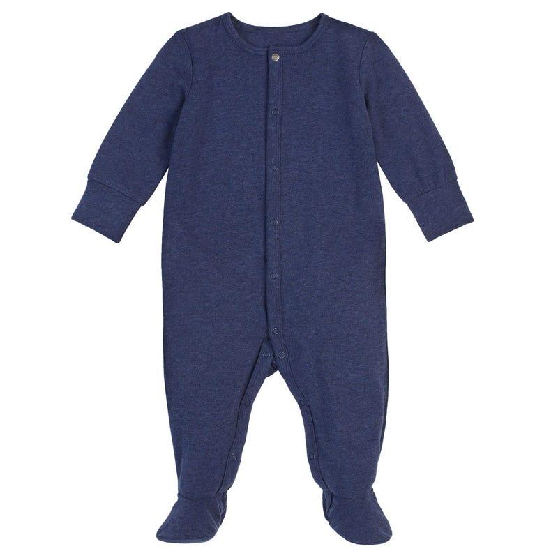 Essentials Navy Pajamas 0-24m